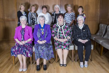Crumlin WI Committee who organised the event