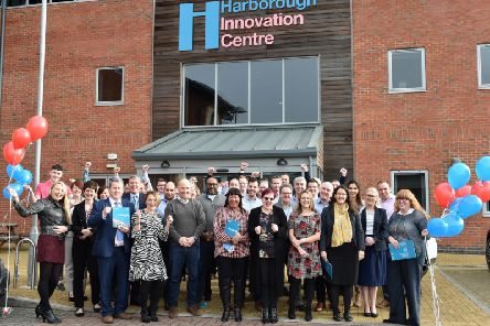 The celebration of the launch of the seven-year Impact Report at Harborough Innovation Centre