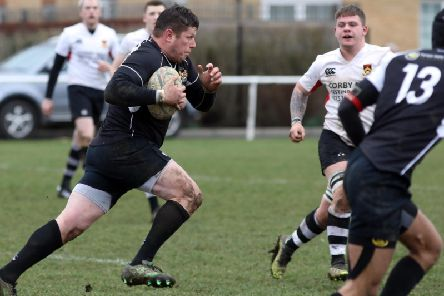 Chris Bale again scored a hat-trick of tries