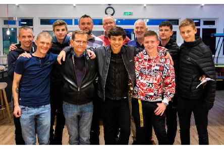 The walkers who will take on the Three Peaks Challenge this weekend.