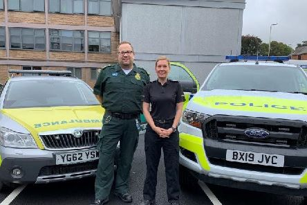 East Midlands Ambulance Service have moved into Market Harborough Police Station