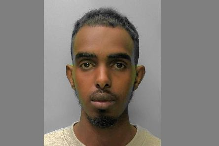 Mohammed Ahmed. Photo courtesy of Sussex Police. SUS-180201-143124001