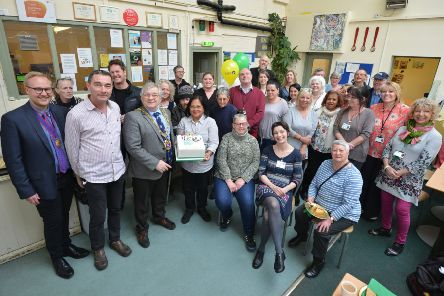 Hastings Homeless Service's 15th birthday celebration at the Seaview Project in St Leonards. SUS-190313-163845001