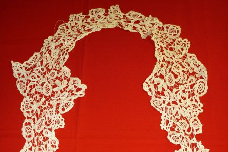 Lace at Bexhill museum SUS-190423-150503001