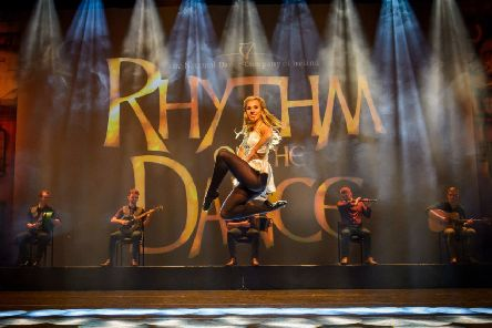 Amy Marie Prior in Rhythm of the Dance. Picture by Wim Lanser