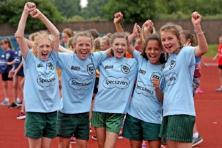 Over 1000 young people, aged 7-16 years old, from 119 teams across the county, participated across 14 different sports including Athletics, Gymnastics and Stoolball - the only event of its size for school children in Sussex.