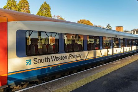 South Western Railway workers are striking over December.