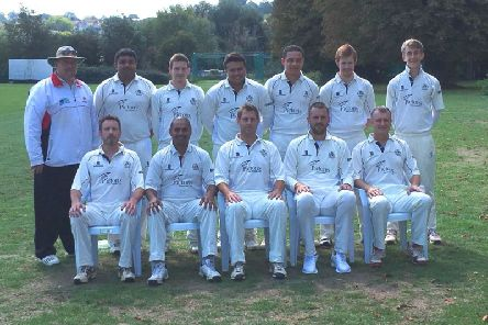 Hemel's Saturday third XI earned promotion from Division 6B at the weekend ' see back page for the report. (Picture by Richard Grayson)