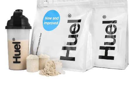 A range of Huel products.