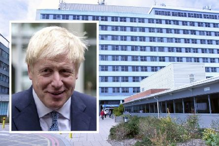 PM Boris Johnson is expected to visit Boston's Pilgrim Hospital tomorrow (Monday).