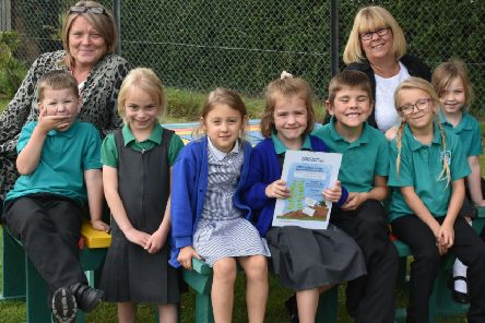 Faldingworth school gets 'top pot' in national awards.