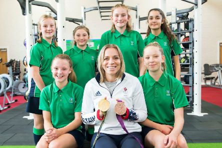 The Louth Academy awards were presented by guest speaker Kate Richardson-Walsh, GB Olympic gold medal winning hockey captain.