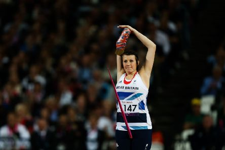 Great Britain's Hollie Arnold, pictured at a previous event.