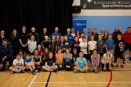 The workshops were delivered by Judy Murray and Judy Murray Foundation Workforce Development Manager, Kris Soutar