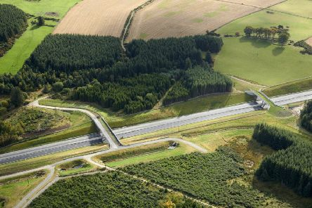 A section of the bypass south of Milltimber