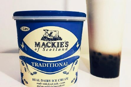 Mackie's ice cream is used in Bubble Teas