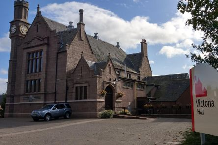 The event will be held in Ellon's Victoria Hall