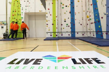 """If you have fancied trying indoor rock climbing why not """"Gie it a Go""""?"""