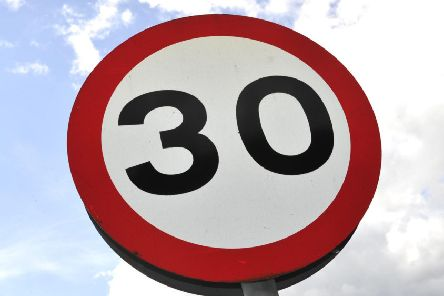 The current 30mph speed limit will be extended in the village