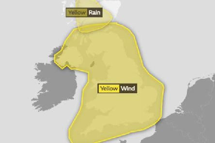 Much of the UK will be hit by bad weather on Friday