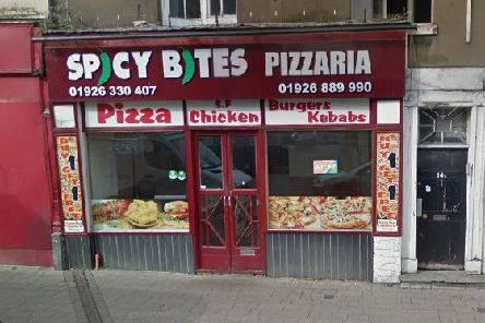 Spicy Bites Pizzaria in Clemens Street in Leamington. Photo from Google Street View.