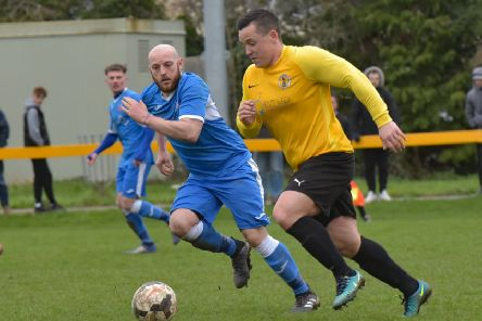 Ben Mackey scored a late winner as Racing Club Warwick edged past hosts Chelmsley Town.