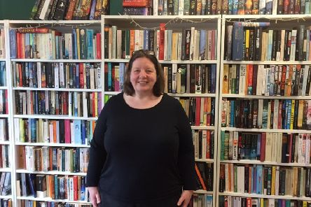Victoria Mier, the owner of the Tree House Bookshop