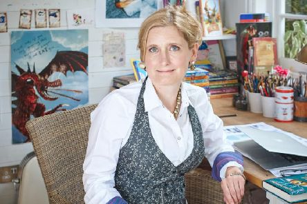 Author Cressida Cowell (photo by Debra Hurford Brown)