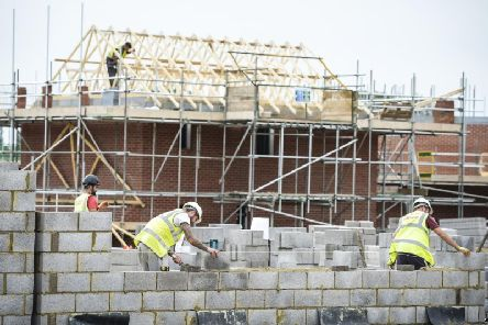 Thousands of new homes are being built in the Warwick district.