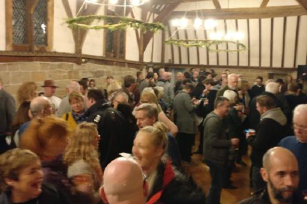 A previous Warwick Court Leet winter beer festival at the Lord Leycester Hospital. Photo submitted.