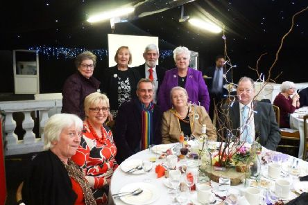 Flog It presenter Paul Martin was the guest speaker at a recent event held by the Warwickshire Federation of WI's. Photo supplied.