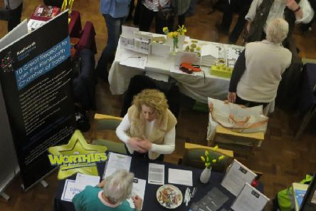 Kenilworth Chamber of Trade stall at the Kenilworth Community in Action showcase event