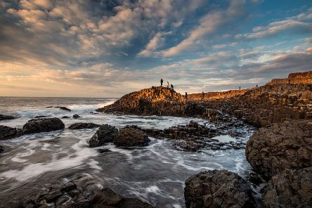 The Giant's Causeway was ranked third in Lonely Planet's Ultimate UK Travelist