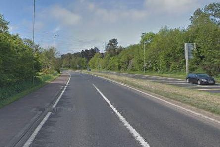 A8 Ballymena Road. Pic by Google.