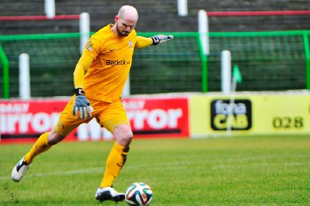 Alan Blayney is the new senior goalkeeping coach at Larne