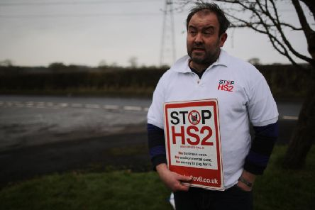 Stop HS2 campaigner Joe Rukin. Source: Getty Images