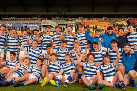 Warwick School celebrate booking their place at Twickenham
