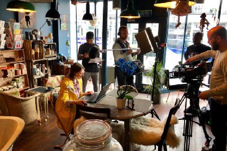 The Gadget Show filming at Bluebasil