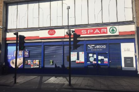 The Post Office branch at Spar in Bath Street, Leamington.