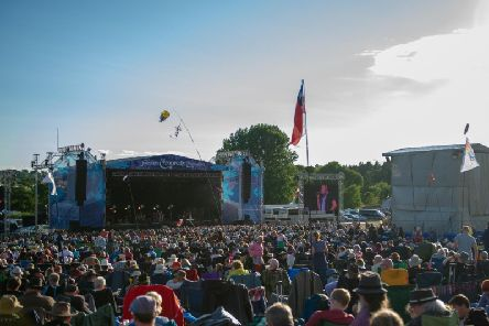 The festival draws huge crowds every year