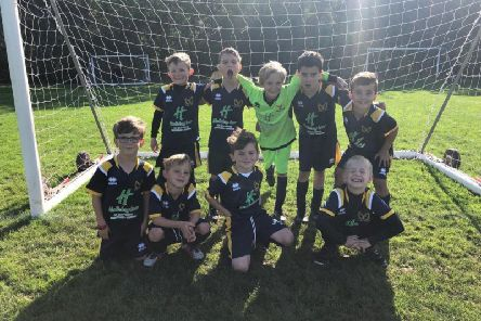 Kenilworth Wardens Under 8s Colts football team