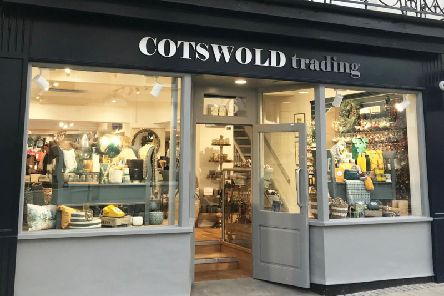 The front of the Cotswold Trading shop in Leamington.
