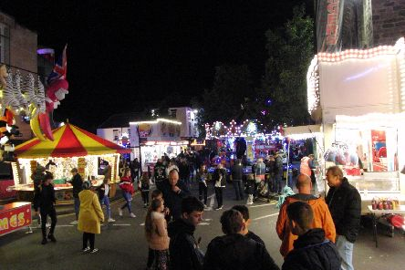 The Warwick Mop Fair returned to town at the weekend. Photo by Geoff Ousbey.