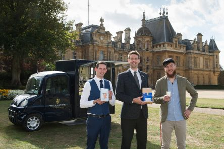 Redemption Roasters coffee is being sold at Waddesdon Manor