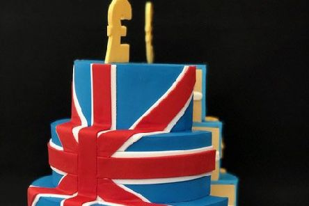 The UK side of the Brexit cake