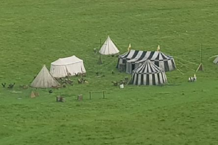 What could the filming be for?
