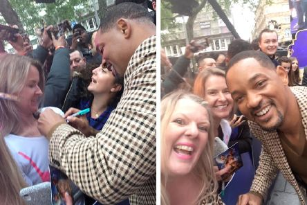 Meeting Will Smith.