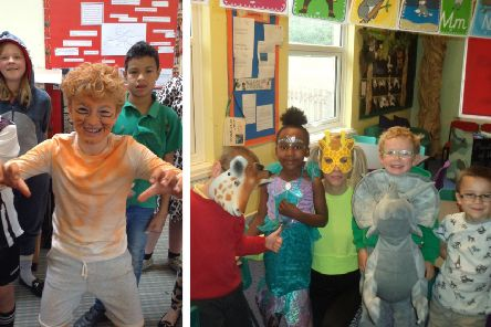 To celebrate, the children enjoyed a 'Wear it Wild' day, dressing as animals and fund-raising for the WWF.