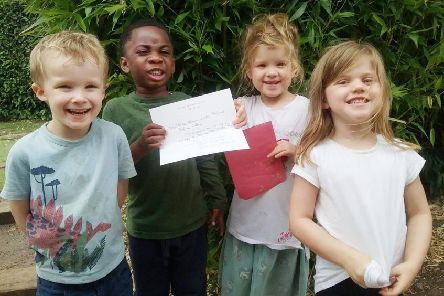 Cedars Day Nursery tots are helping to save the planet.