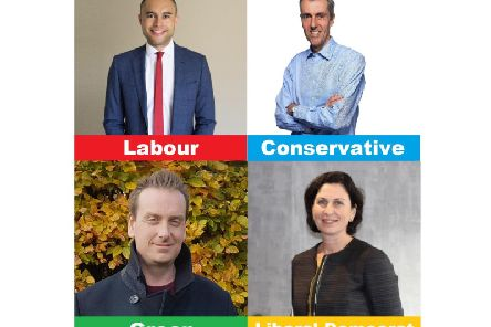 Four candidates are standing in SW Beds
